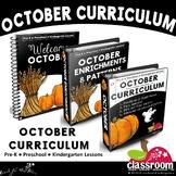 OCTOBER PRESCHOOL CURRICULUM MONTHLY LESSON PLANS S1
