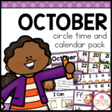 OCTOBER MORNING MEETING CALENDAR AND CIRCLE TIME RESOURCES