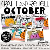 OCTOBER Craft & Retell (Retelling a Story) *Halloween Activities*
