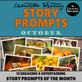 OCTOBER Creative Writing Prompts | Story Prompts | Prompts of the Month