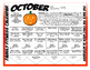 OCTOBER FAMILY FITNESS CALENDAR