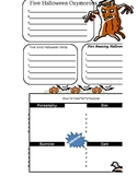 OCTOBER  - Fun Writing - Student JOURNAL PAGES - Common Core Practice