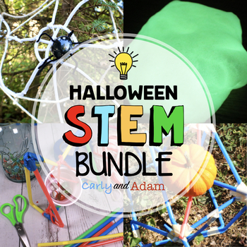 OCTOBER HALLOWEEN STEM ACTIVITY BUNDLE - NGSS Aligned