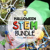 October Halloween STEM Activities Bundle