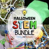 October Halloween STEM Activities and Challenges BUNDLE