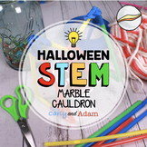 October Halloween STEM Activity: Marble Cauldron