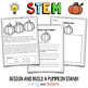 OCTOBER HALLOWEEN STEM Activity: Pumpkin Stand - NGSS Aligned