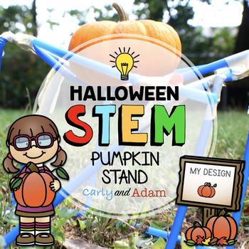 Pumpkin Stand October Halloween STEM Activity