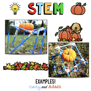 Pumpkin Stand October Halloween Stem Activity By Carly And Adam Tpt