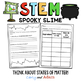 OCTOBER HALLOWEEN STEM Activity: Spooky Slime - NGSS Aligned