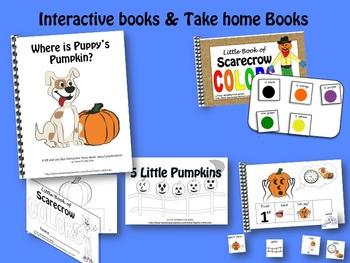 OCTOBER Interactive Language Activity BUNDLE