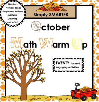 OCTOBER MATH WARM UP
