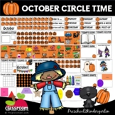 OCTOBER MORNING MEETING CENTER + EDITABLE TEACHER RESOURCE