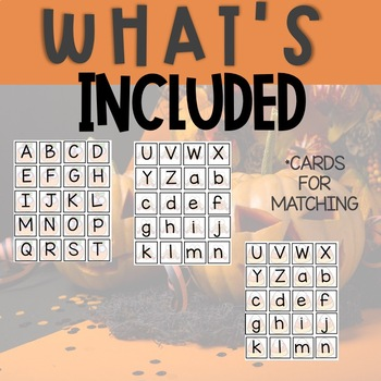OCTOBER Monthly Alphabet Letter Recognition Games