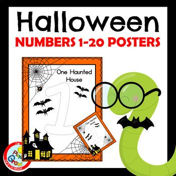 Halloween Numbers Posters