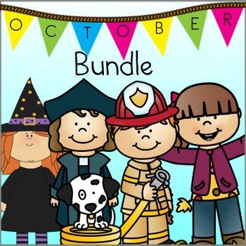 OCTOBER PRE-K THEMES BUNDLE