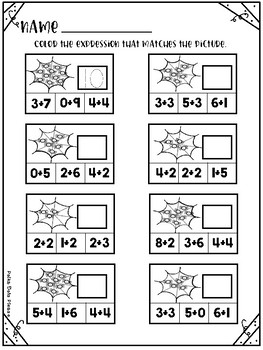 OCTOBER Perfect Practice for Addition