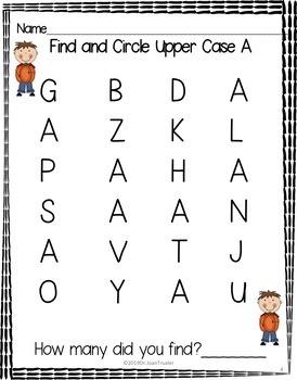 OCTOBER is for Preschoolers (PreK & Kindergarten)
