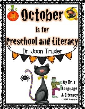 OCTOBER (Preschool & Kindergarten)
