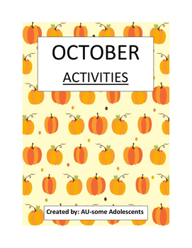 OCTOBER- Re-usable Activities