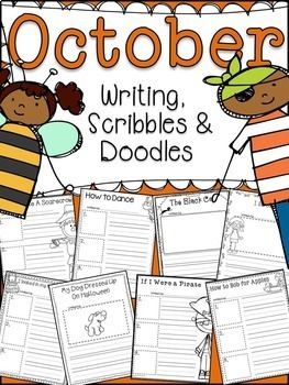 OCTOBER WRITING PROMPTS common core  (Fall Autumn)