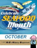 OCTOBER is LOUISIANA/U.S. Seafood Month
