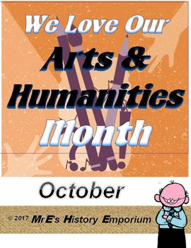 OCTOBER is LOUISIANA/US National Arts and Humanities Month