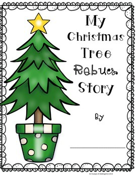 O'Christmas Tree Differentiated REBUS story