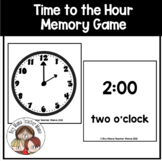 O'Clock Card Game: A Game for Teaching Time to the Hour