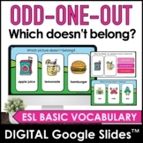 ODD ONE OUT   Which picture doesn't belong? Vocabulary Goo