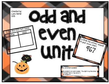 HALLOWEEN ODD and EVEN UNIT
