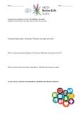 OECD Better Life Index Worksheet