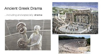 OEDIPUS THE KING Introduction to Greek Theatre Powerpoint