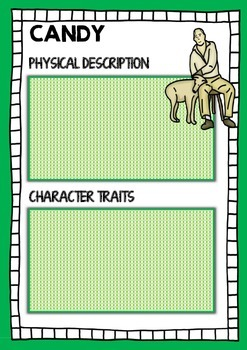 OF MICE AND MEN - Character traits sorting activity