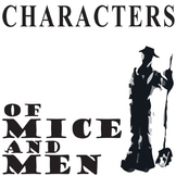 OF MICE AND MEN Characters Organizer (by John Steinbeck)