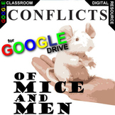 OF MICE AND MEN Conflict Graphic Organizer (Created for Digital)
