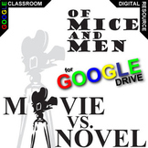 OF MICE AND MEN Movie vs Novel Comparison (Created for Digital)