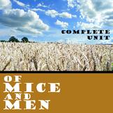 OF MICE AND MEN Unit Novel Study (John Steinbeck) - Litera