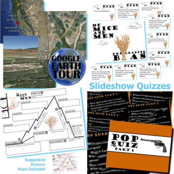 OF MICE AND MEN Unit Plan - Novel Study Bundle (Steinbeck) - Literature Guide