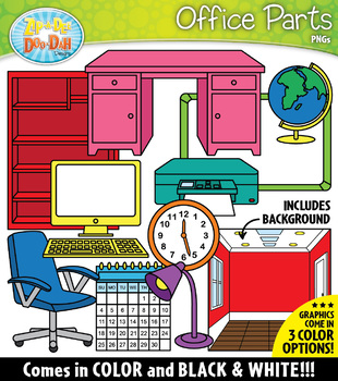 OFFICE Parts of a House Clipart {Zip-A-Dee-Doo-Dah Designs ...
