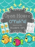 """O""""Fish""""ally in _______ Grade Open House Gift - Color or Bl"""