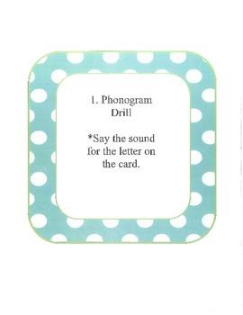 OG Lesson Outline Cards