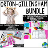 OG Mega Bundle Interactive Journal and Literacy Center. (D