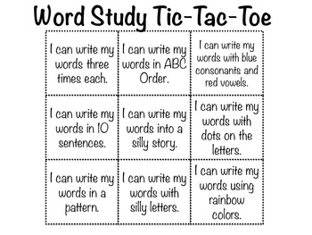 OG, OP & OT Word Study Sort and Activities
