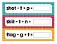Orton Gillingham OG Phoneme manipulation and segmentation cards