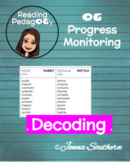 OG Decoding Phonics Progress Monitoring Tool - Orton Gillingham