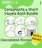 OG Unit 1 Decodable Book Bundle: Consonants, Short Vowels,
