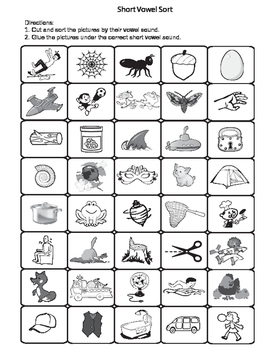 OG Vowel Intensive Activities (Short Vowel Practice)