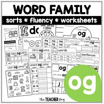 OG Word Family Activities