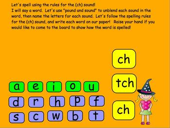 OG, You Know! Orton-Gillingham  Digraph ch and Trigraph tch PROMETHEAN FlipChart